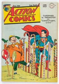 Action Comics #104 (DC, 1947) Condition: VG/FN