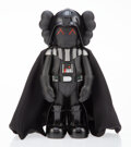 Collectible, KAWS X Lucas Films. Darth Vader, 2007. Painted cast vinyl. 9-3/4 x 4-1/2 x 3-1/2 inches (24.8 x 11.4 x 8.9 cm). Stamped ...