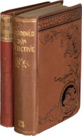 Books:Mystery & Detective Fiction, Virginia Champlin. Two Victorian Detective Mysteries. Boston and New York: Various Publishers, 1880-[1885]. First Editions. ... (Total: 2 Items)