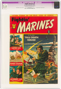 Fightin' Marines #2 (St. John, 1951) CGC Apparent GD/VG 3.0 Slight (A) Cream to off-white pages