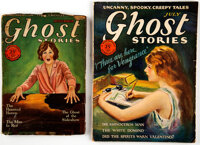 Ghost Stories Group of 2 (Macfadden, 1928) Condition: Average GD/VG.... (Total: 2 Items)