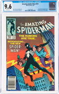 Modern Age (1980-Present):Superhero, The Amazing Spider-Man #252 (Marvel, 1984) CGC NM+ 9.6 White pages....