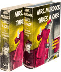 Books:Mystery & Detective Fiction, George Harmon Coxe. Mrs. Murdock Takes a Case. New York: Knopf, 1941. Two copies, one a trade edition, the other an ... (Total: 2 Items)