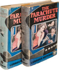 Books:Mystery & Detective Fiction, Lebbeus Mitchell. Two copies of The Parachute Murder. New York: Macaulay, [1933]. Presumed first edition.... (Total: 2 Items)