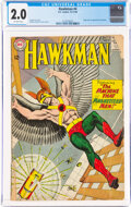 Silver Age (1956-1969):Superhero, Hawkman #4 (DC, 1964) CGC GD 2.0 Off-white pages....