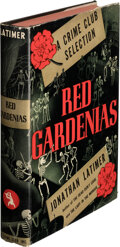 Books:Mystery & Detective Fiction, Jonathan Latimer. Red Gardenias. Published for The Crime Club, Inc., Garden City: Doubleday, Doran & Company, 1939. ...