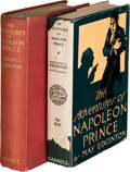 Books:Mystery & Detective Fiction, May Edginton. Two Copies of The Adventures of Napoleon Prince. Cassell and Company, Ltd., 1912. First Editi... (Total: 2 Items)