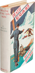 Books:Mystery & Detective Fiction, Hetty Ritchie. Death Runs on Skis. London: Methuen & Co., Ltd., [1935]. First edition....