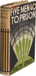 Books:Mystery & Detective Fiction, Ralph Straus. Five Men Go to Prison. London: Chapman & Hall, Ltd., 1935. First edition....