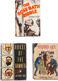"""Books:Mystery & Detective Fiction, Anthony Rud. Group of Three """"J.C.K. Masters"""" Mysteries. New York and [London]: Macaulay Co.; Newnes Ltd., 1934-[N.D. ca. mid... (Total: 3 Items)"""