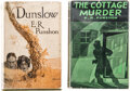 Books:Mystery & Detective Fiction, E.R. Punshon. Pair of Crime Novels. London and Boston: Various publishers, 1922-1932. First editions.... (Total: 2 Items)
