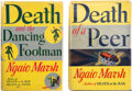 Books:Mystery & Detective Fiction, Ngaio Marsh. Pair of Novels. Boston: Little, Brown, and Co., 1940-1941. First American editions.... (Total: 2 Items)