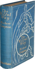 Books:Mystery & Detective Fiction, Herbert [Eastwick] Compton. The Wilful Way. London: Chatto & Windus, 1903. First edition....