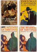 """Books:Mystery & Detective Fiction, Marcel Allain. Lot of Four """"Fantomas"""" First American Editions. New York: [various publishers], [1924-1926]. ... (Total: 4 Items)"""