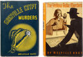 Books:Mystery & Detective Fiction, Melville Burt. Lot of Two First Editions. New York: Macaulay, 1935-1936. ... (Total: 2 Items)