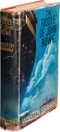 Books:Mystery & Detective Fiction, Winston Graham. The Riddle of John Rowe. London: Ward, Lock, [1935]. First edition. ...