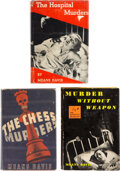 Books:Mystery & Detective Fiction, Means Davis. Lot of Three First Editions. New York: [various publishers], 1934-1937. ... (Total: 3 Items)