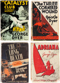 Books:Mystery & Detective Fiction, George Dyer. Lot of Four First Editions. Boston and New York: [various publishers], 1931-1939. ... (Total: 4 Items)