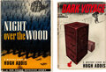 Books:Mystery & Detective Fiction, Hugh Addis. Lot of Two First Editions. New York: Dodd, Mead, 1943-1944. One title is a review copy. ... (Total: 2 Items)