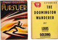 Books:Mystery & Detective Fiction, Louis Golding. Pair of First Editions. One copy signed and inscribed with an original photograph laid in. London and New... (Total: 2 Items)