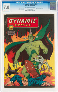Dynamic Comics #18 (Chesler, 1946) CGC FN/VF 7.0 Off-white to white pages