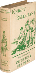 Books:Mystery & Detective Fiction, Cuthbert Headlam. Knight Reluctant. London: John Murray, 1934. First Edition....