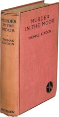 Books:Mystery & Detective Fiction, Thomas Kindon. Murder in the Moor. London: Methuen & Co. Ltd., 1929. First Edition. ...