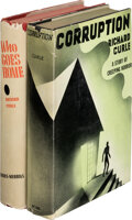 Books:Mystery & Detective Fiction, Richard Curle. Pair of Richard Curle Books. Indianapolis and New York: Bobbs-Merrill Company, [1933]-[1935].... (Total: 2 Items)
