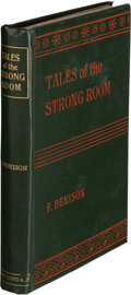 Books:Mystery & Detective Fiction, Frank Denison. Tales of the Strong Room. London: Digby, Long & Co., 1899. First Edition. ...