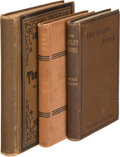 Books:Mystery & Detective Fiction, Wilkie Collins. Group of Three Novels. Various places and publishers, 1879-1887. ... (Total: 3 Items)