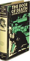 Books:Mystery & Detective Fiction, John Esteven [Pseudonym of Samuel Shellabarger]. The Door of Death. A Mystery Story. New York: The Century C...
