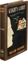 Books:Mystery & Detective Fiction, William Faulkner. The Knight's Gambit. New York: Random House, [1949]. First Edition; advanced review copy with publ...