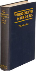 Books:Mystery & Detective Fiction, G.D.H. Cole. The Brooklyn Murders. New York: Thomas Seltzer, 1924. Presumed first edition. ...