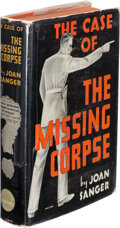 Books:Mystery & Detective Fiction, Joan Sanger. The Case of the Missing Corpse. New York: Green Circle Books, [1936]. First edition....