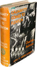 Books:Mystery & Detective Fiction, Charles Ashton. Calamity Comes to Flenton. London: Nicholson and Watson, 1936. First edition. ...
