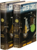Books:Mystery & Detective Fiction, Chris Massie. The Green Circle. New York: Random House, [1943]. First edition, two copies, one in hardcover and jack... (Total: 2 Items)