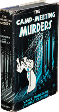 Books:Mystery & Detective Fiction, Vance Randolph and Nancy Clemens. The Camp-Meeting Murders. New York: Vanguard, 1936. First edition. ...