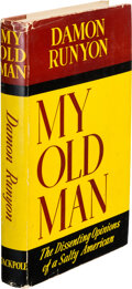Books:Mystery & Detective Fiction, Damon Runyon. My Old Man. New York: Stackpole, [1939]. First edition. ...