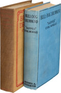 """Books:Mystery & Detective Fiction, Cyril McNeile """"Sapper"""". Group of Bull-Dog Drummond Novels with Advertisement. London and New York: Various Publi... (Total: 3 Items)"""