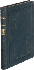 Books:Mystery & Detective Fiction, Charles Dickens. Hunted Down, a Story. The uncommercial traveler [sic]. Leipzig: Bernhard Tauchnitz, 1860. Colle...