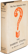 Books:Mystery & Detective Fiction, Melvin L. Severy. The Darrow Enigma. New York: Dodd, Mead & Co., 1904....