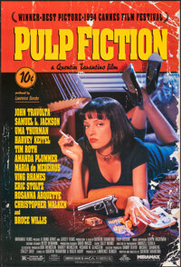 """Pulp Fiction (Miramax, 1994). Rolled, Very Fine. One Sheet (27"""" X 40"""") DS. Crime"""