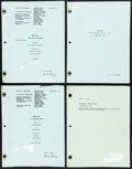"""Movie Posters:Crime, NYPD Blue Script Lot (ABC Television, 1994 - 1995). Very Fine-. Television Scripts (7) (Multiple Pages, 8.5"""" X 11""""). Crime...."""