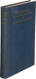 Books:Mystery & Detective Fiction, James Francis Thierry. The Adventures of the Eleven Cuff-Buttons. New York: Neale Pub. Co., 1918....