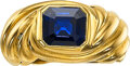 Estate Jewelry:Rings, Sapphire, Gold Ring, Chaumet. ...