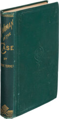 Books:Mystery & Detective Fiction, Bessie Turners. A Woman in the Case. New York: G. W. Carleton & Co., 1875....