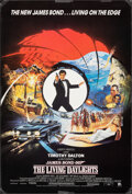 "Movie Posters:James Bond, The Living Daylights (United Artists, 1987). Rolled, Fine+. British One Sheet (27"" X 39.75"") SS, Brian Bysouth Artwork. Jame..."