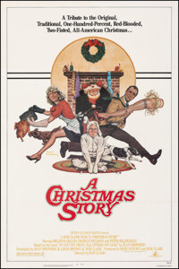 "A Christmas Story (MGM, 1983). Very Fine- on Linen. One Sheet (27"" X 41"") Robert Tanenbaum Artwork. Comedy..."