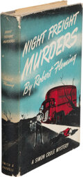 Books:Mystery & Detective Fiction, Robert Fleming, pseudonym [Robert H. Leitfred]. Night Freight Murders. New York: Smith & Durrell, 1942....