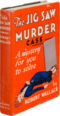 Books:Mystery & Detective Fiction, Robert Wallace. The Jig-Saw Murder [Puzzle Book]. New York: Saml. Gabriel Sons & Co., [1933]....
